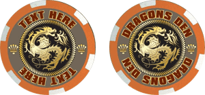 Poker chips template #116